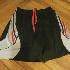 Adidas basketball shorts, size XL
